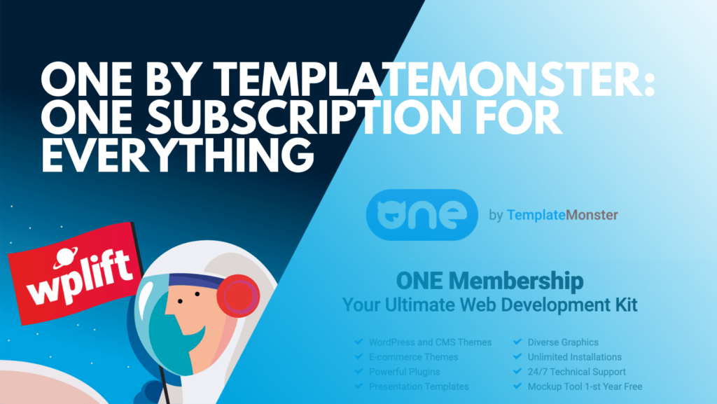 TemplateMonster, MonsterOne - introduction