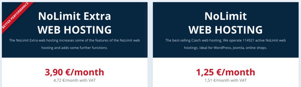 WEDOS felülvizsgálat: a web hosting tervezi az árakat