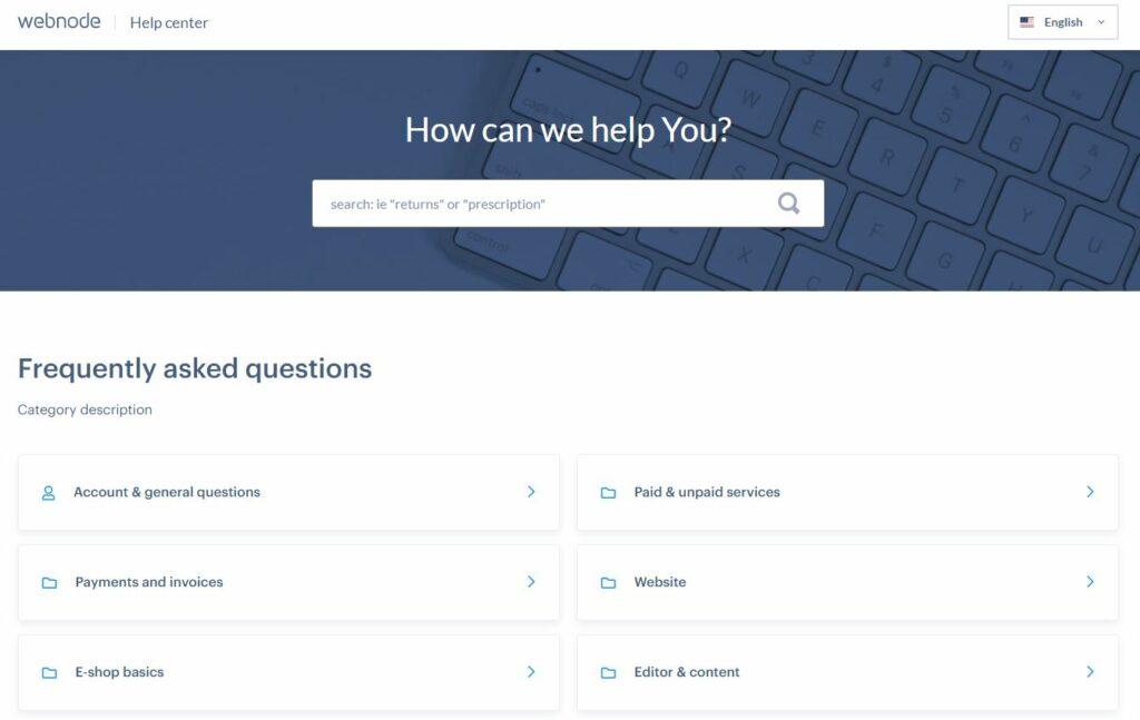webnode tudásbázis